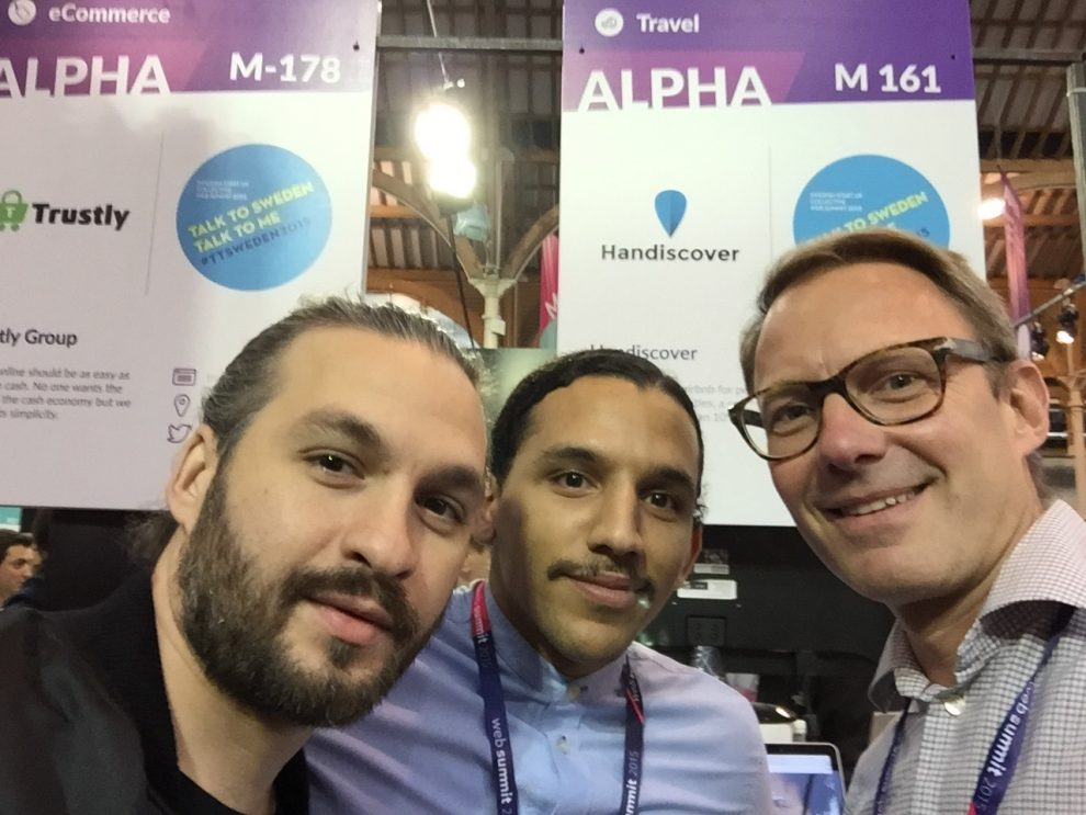 Websummit, Dublin- Handiscover invited to be part of the Swedish pavilion