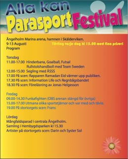 ParaSport Event in Sweden