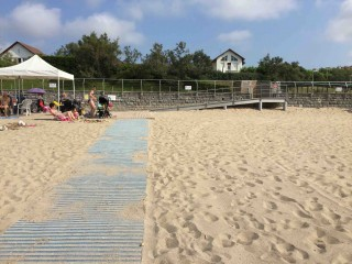 Handiplage: Great beach access in Hendaye, France