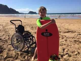 Beachlife in accessible Zarautz 11
