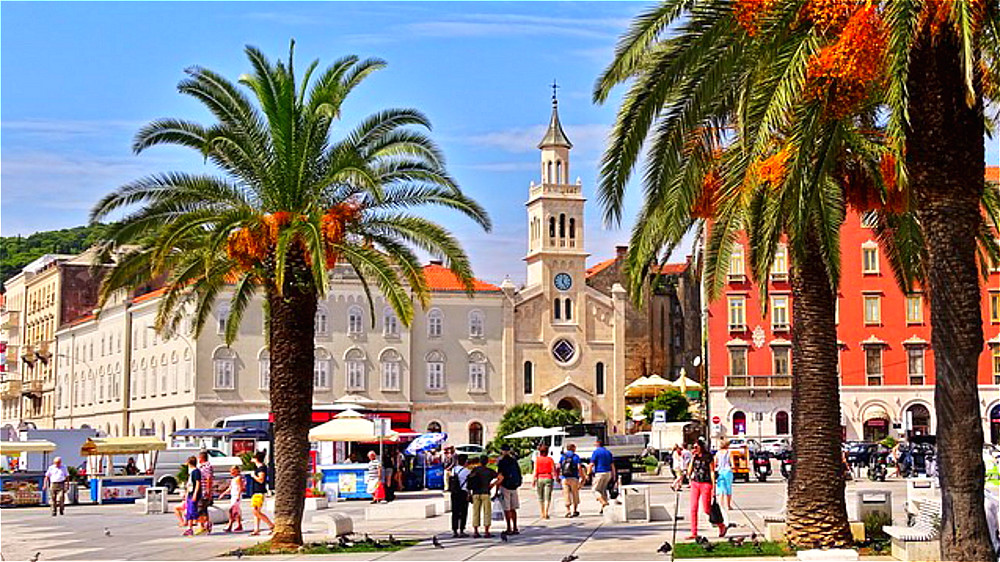 Split - Old Town and Diocletian's palace