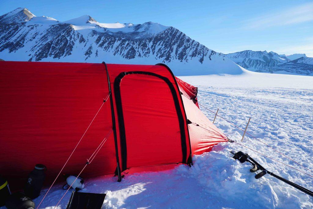 tent south pole