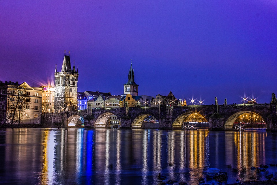 wheelchair accessible prague Charles Bridge