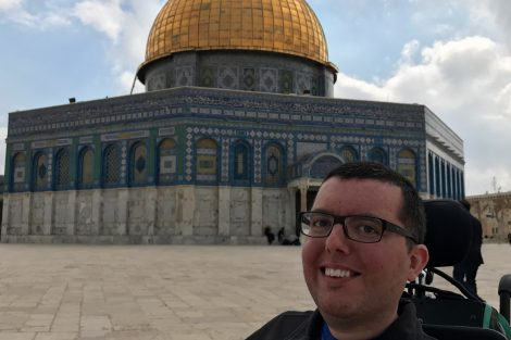 Cory Lee AccessibIe travel blogger Jerusalem