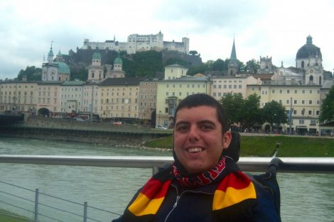Cory Lee AccessibIe travel blogger Budapest