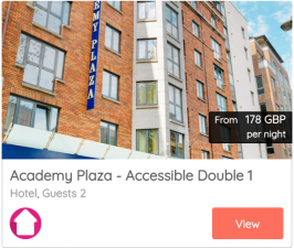Dublin accessible accommodations 2