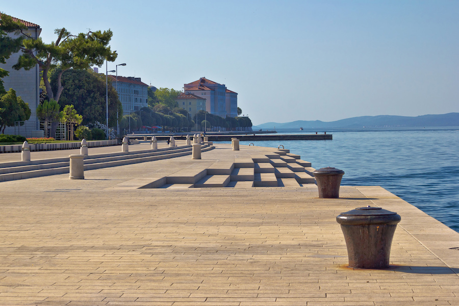 Accessible Sea Organ in Zadar croatia - Handiscover