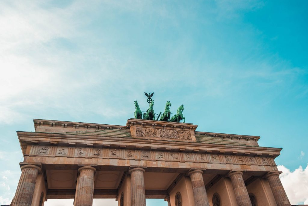 The Brandenburg Gate, Berlin