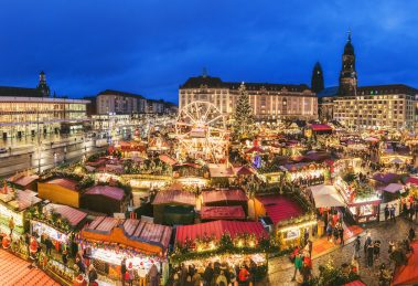 Accessible Christmas market