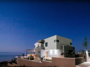 Accessible Villa in Makarska, Starry night looking from villa