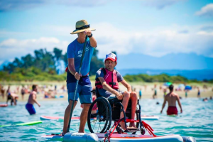 Traveller With Disabilities On Holidays