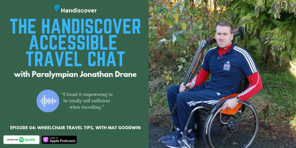 Wheelchair Travel Tips, With Mat Goodwin