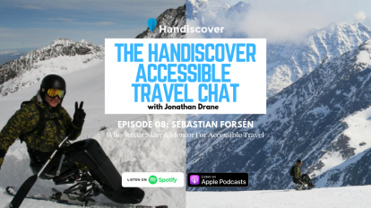 Sebastian Forsen, Wheelchair Skier & Mentor For Accessible Travel
