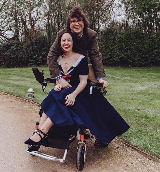 Natasha Lipman And Her Wheelchair