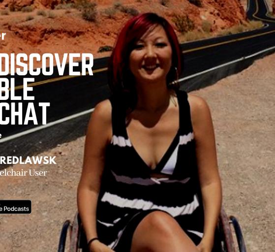 Kam Redlawsk, Wheelchair Artist & Traveller