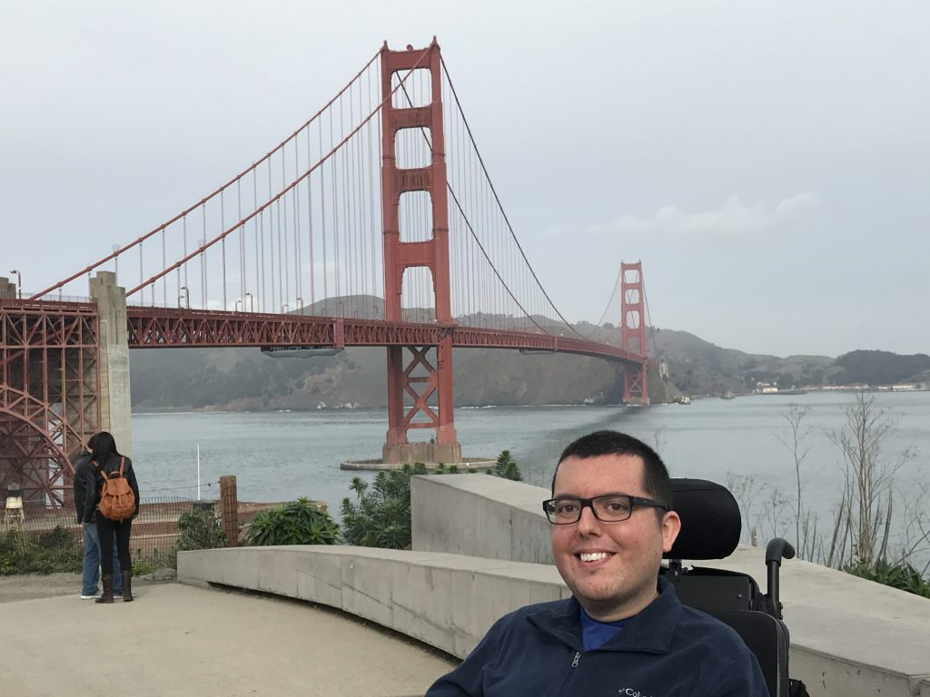 Taking in the sights in San Francisco
