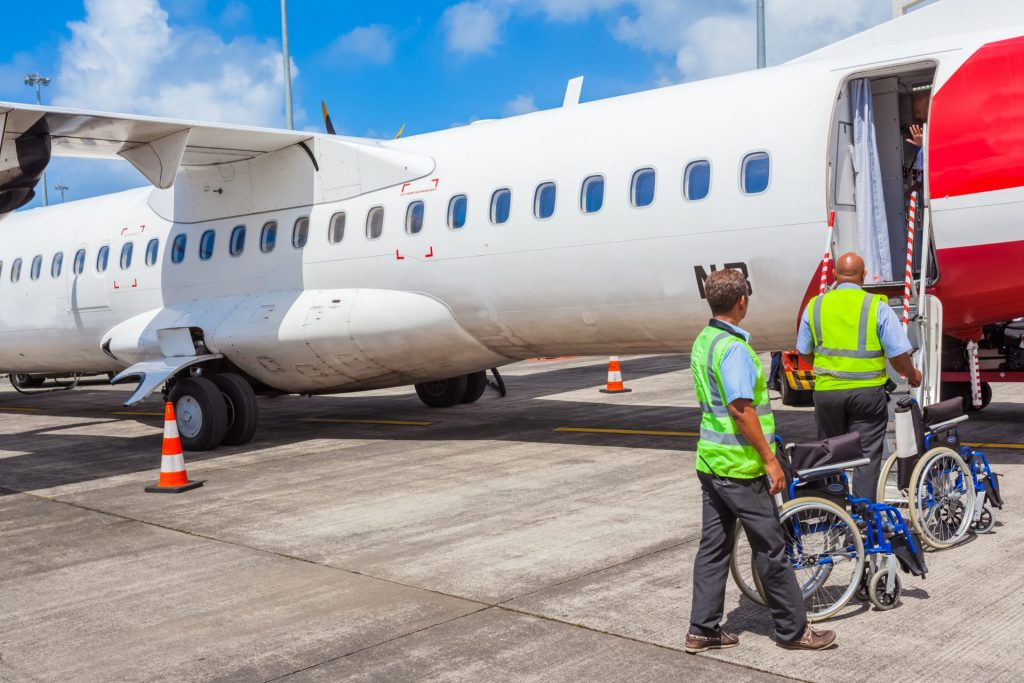 Getting On A Plane With A Wheelchair