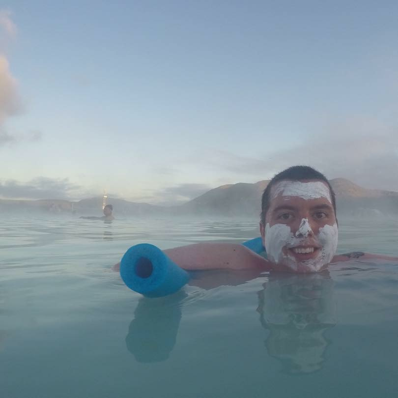 Cory At The Accessible Blue Lagoon In Iceland