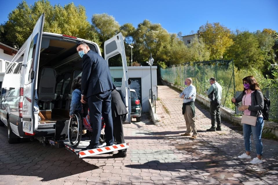 Wheelchair Accessible hire van in Molise, Italy