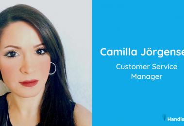 Camilla Jörgensen, Customer Service Manager