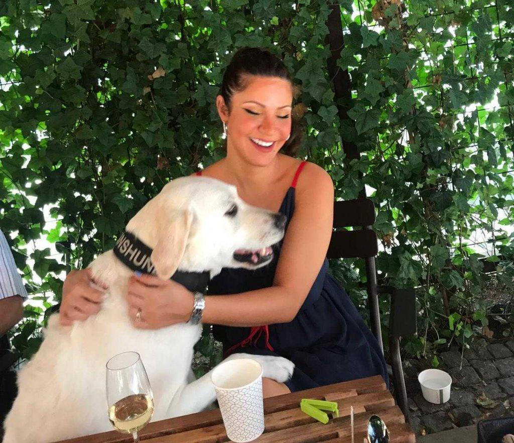 Camilla & Dixie The Service Dog