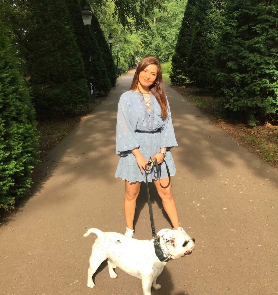 Camilla And Her Dog Viking