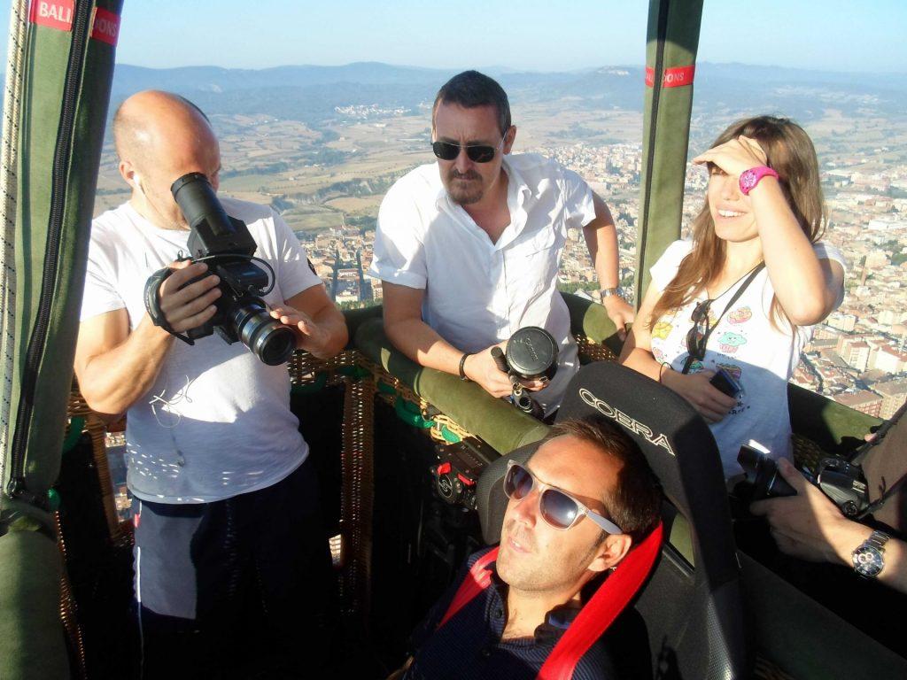 Martyn Hot Air Ballooning In Catalonia