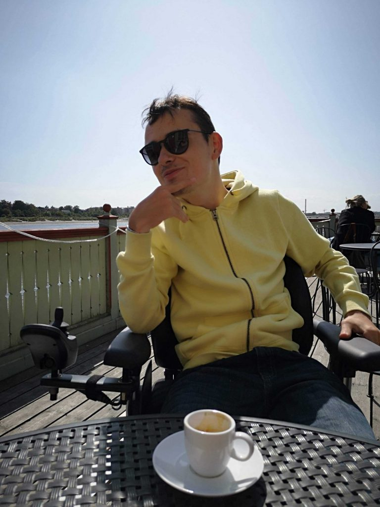 Mathieu And Coffee