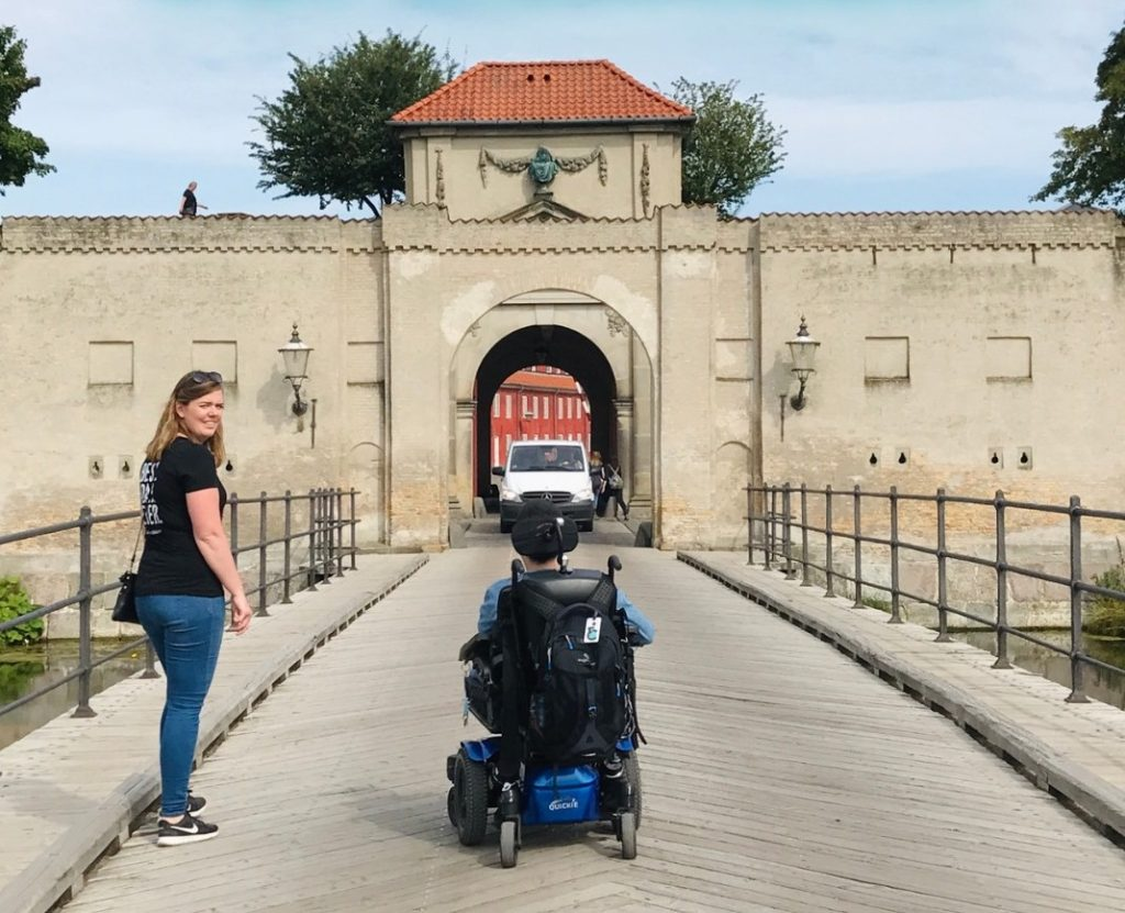 Cory Lee And Mie In Wheelchair Accessible Copenhagen
