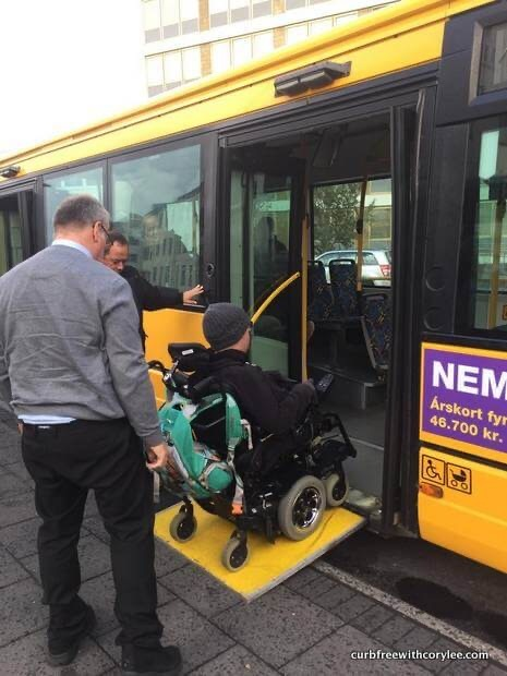 Accessible Bus In Iceland