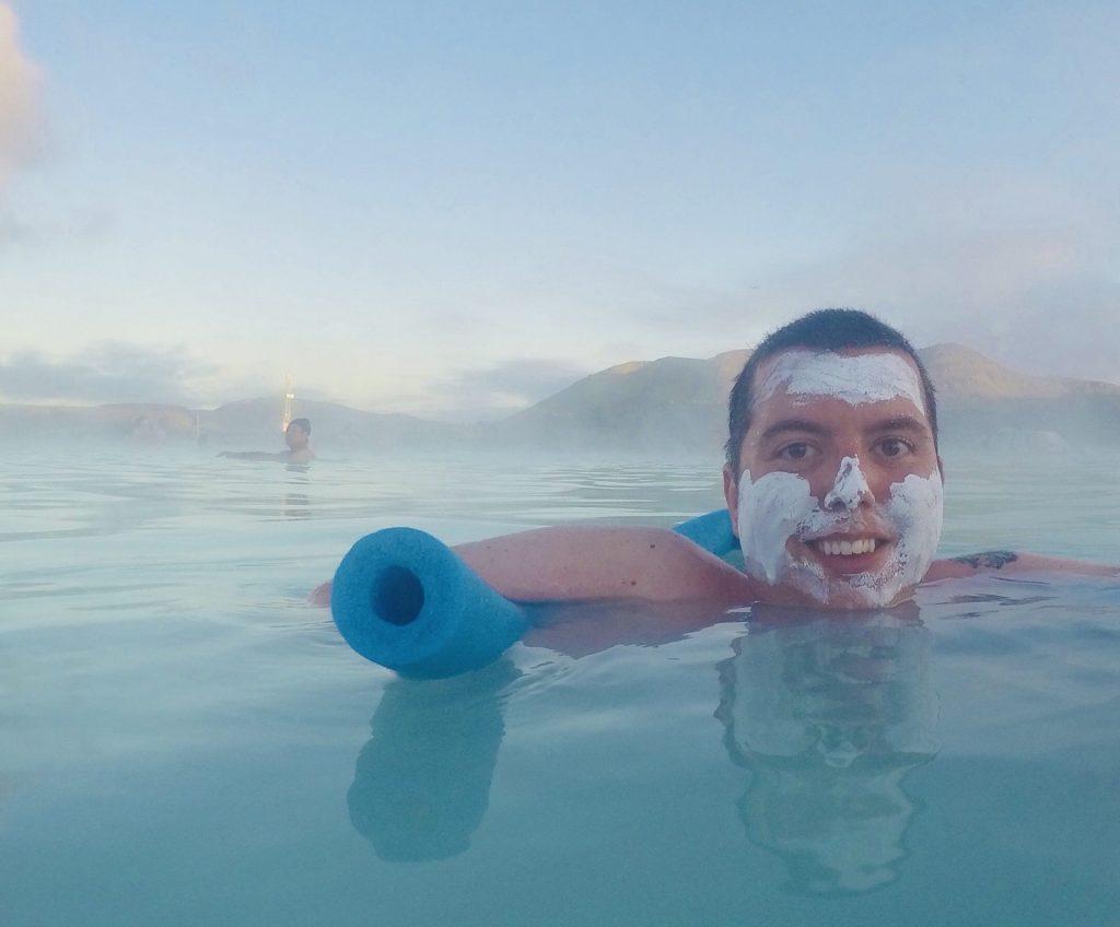 Cory At The Blue Lagoon