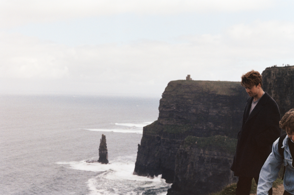 Alex At The Cliffs Of Moher