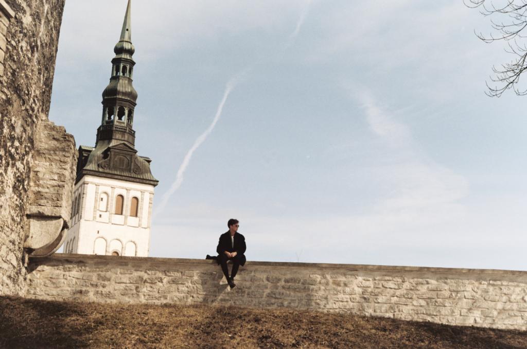 Alex In Tallin, Estonia