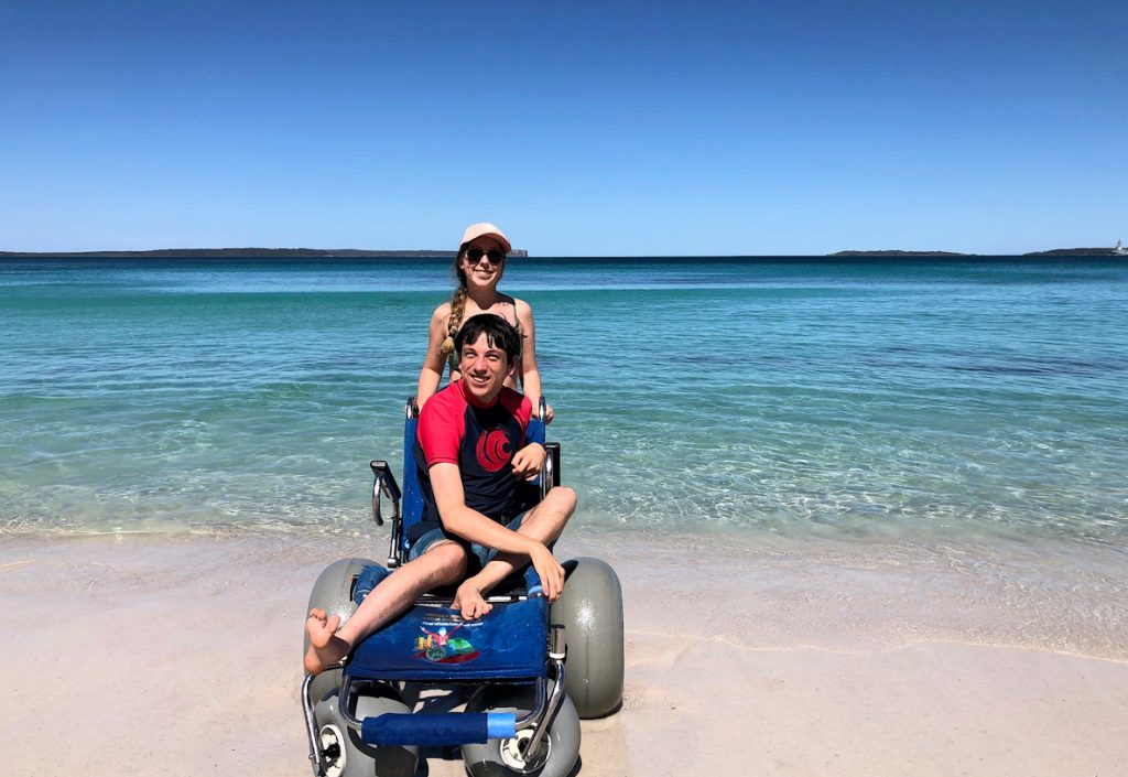 Braeden And Sister At Jervis Bay