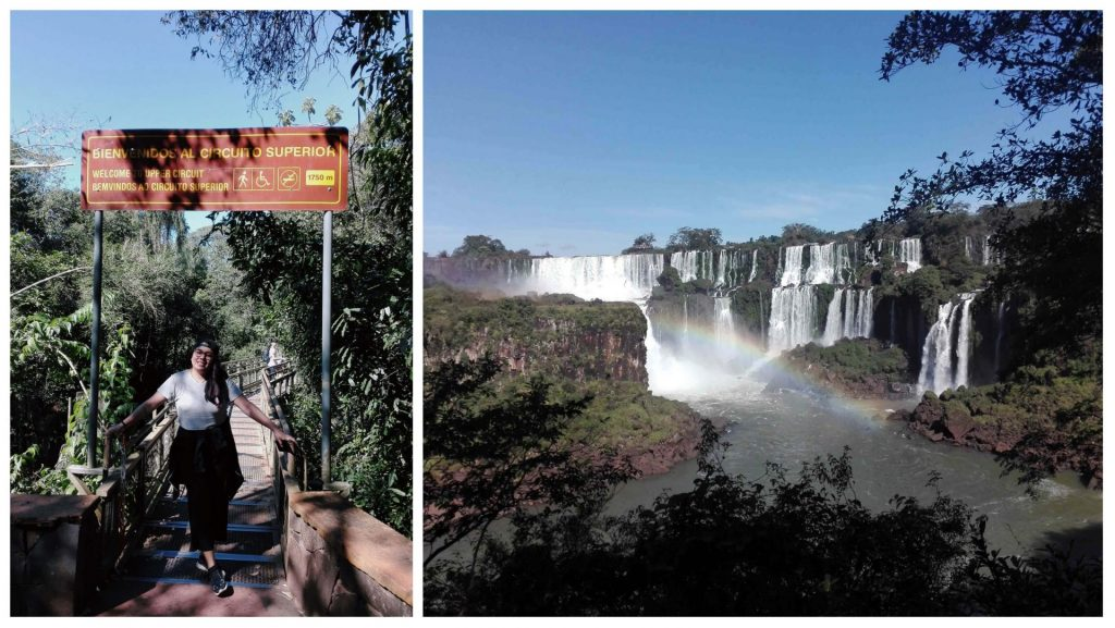 Consuelo At The Iguazu Falls