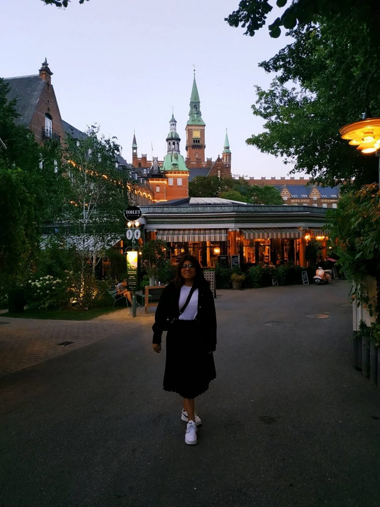 Consuelo At Tivoli In Copenhagen