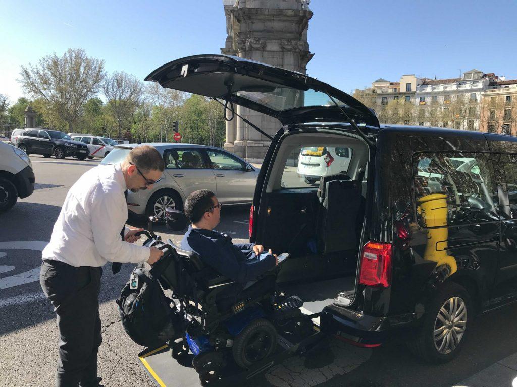 Wheelchair Accessible Van In Madrid