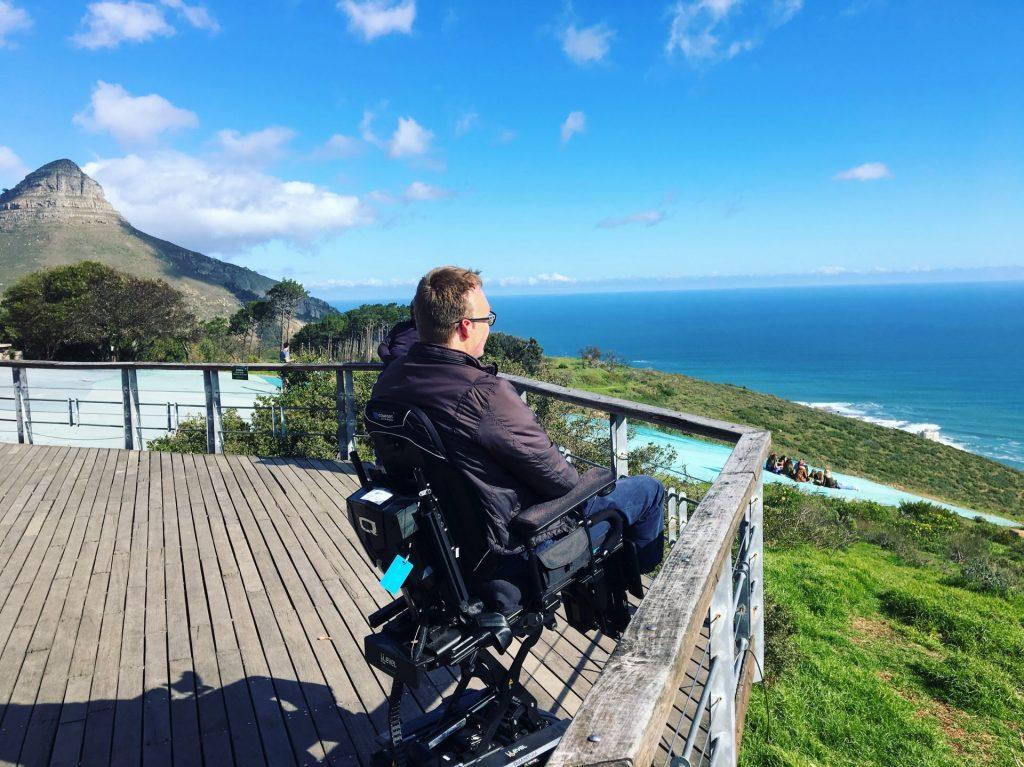 John Morris in Cape Town