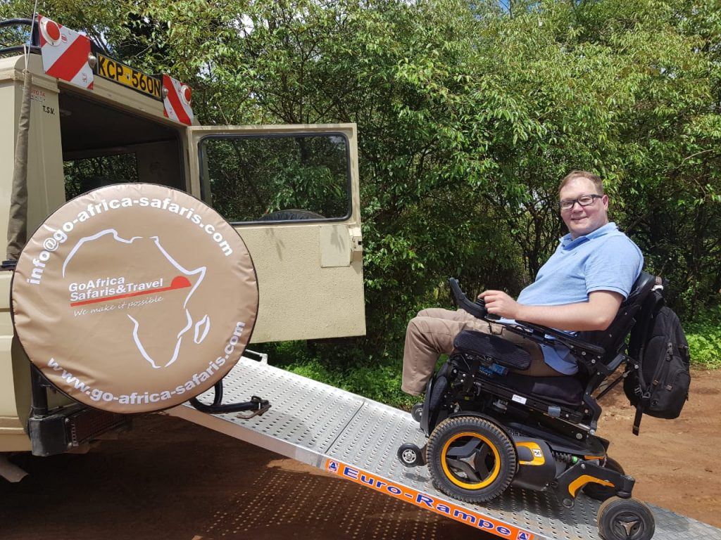 John On A Safari In Nairobi