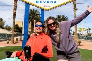 Kevin And Dee, Travelling As An Interabled Couple