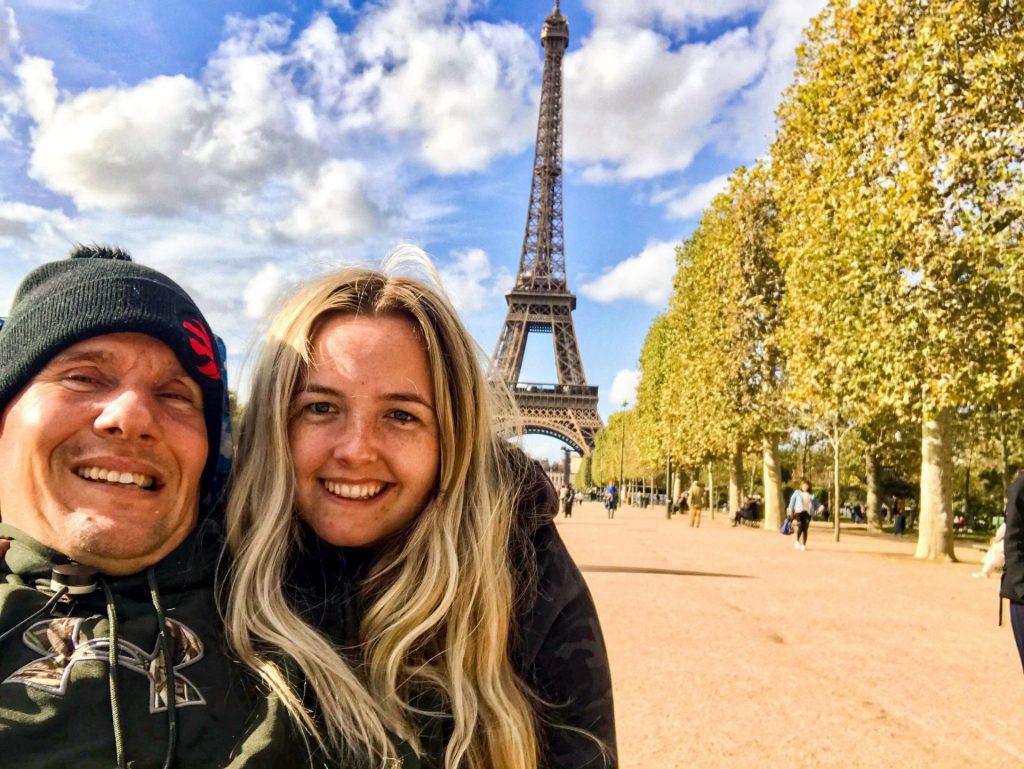 Kevin & Dee In Paris