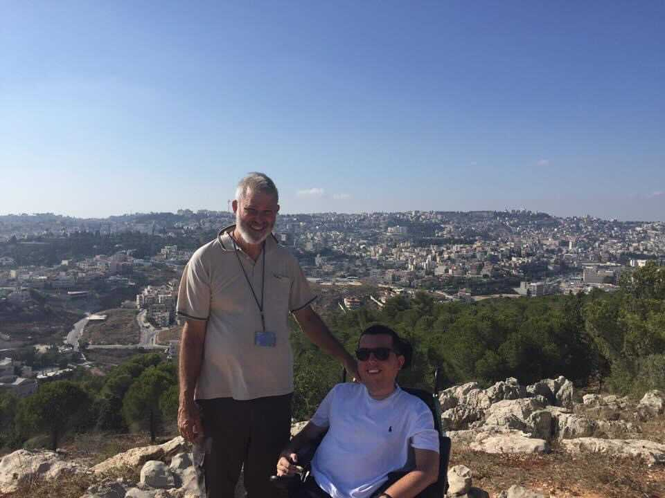 Cory And Eli In Israel