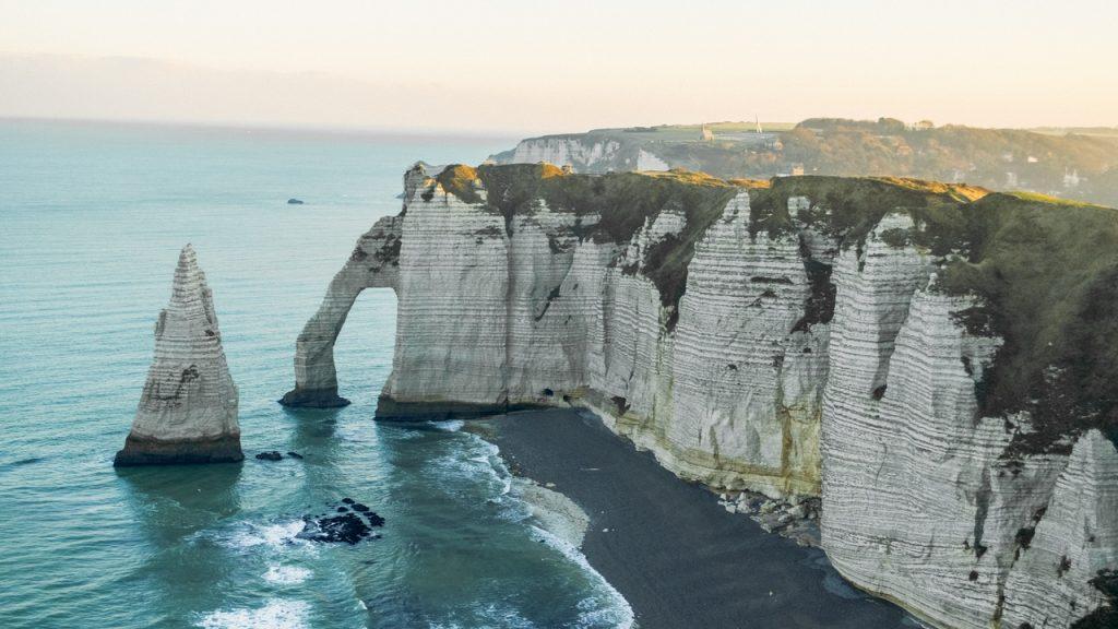Cliffs At Wheelchair Accessible Etretat